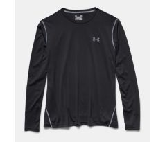 Pánsky nátelnik  Under Armour - TECH™ LONG SLEEVE T-SHIRT BLACK M ČIERNA