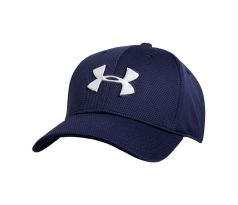 Pánska šiltovka Under Armour - BLITZING II STRETCH FIT CAP tmavomodrá