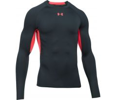 HEATGEAR® ARMOUR LONG SLEEVE COMPRESSION SHIRT antracit