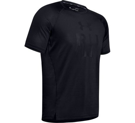 Pánske tričko Under Armour - UA QUALIFIER GLARE SS BLK