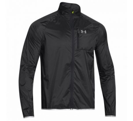 Pánska bežecká bunda - COLDGEAR® INFRARED CHROME LITE JACKET BLACK